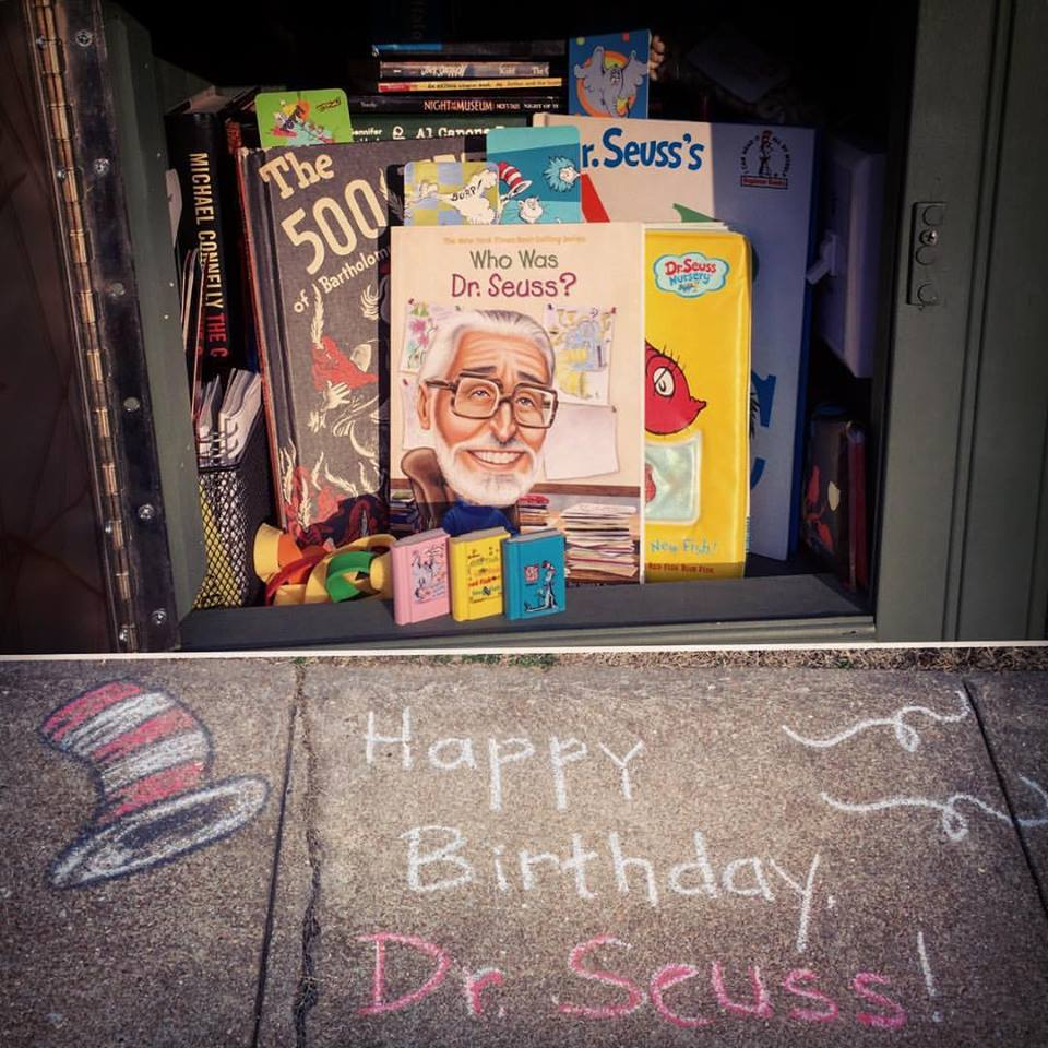 Dr. Seuss birthday books
